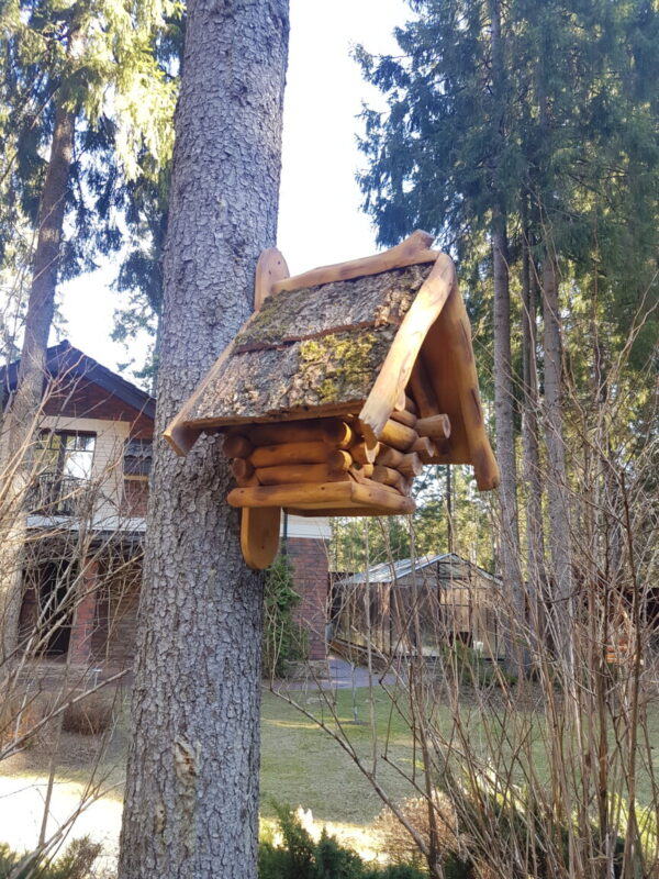 Кормушка домик на дерево