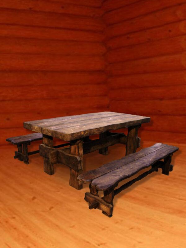 Набор мебели массивный