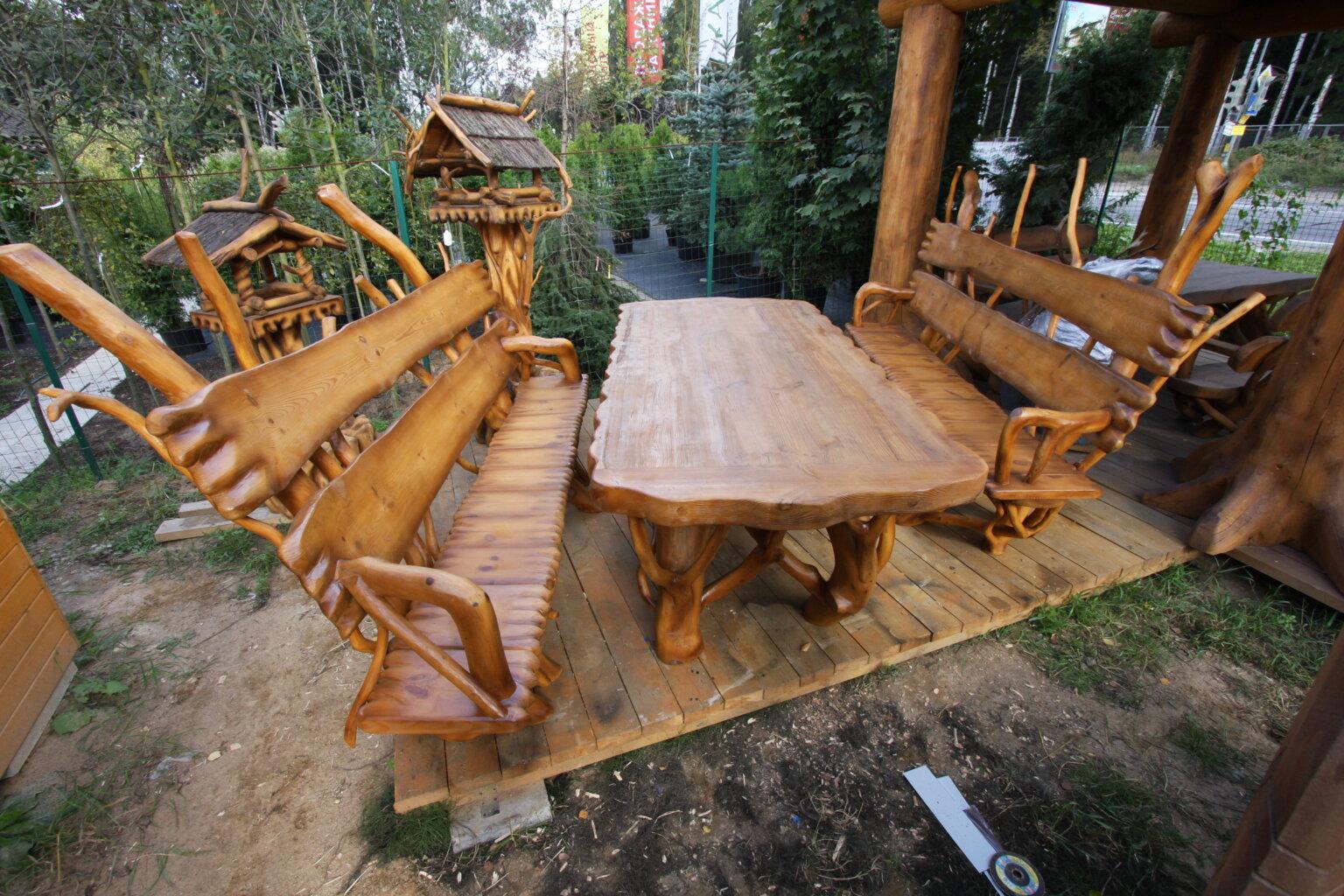 Мебель из корней и коряг