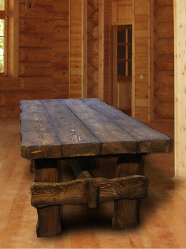 Стол массивный под старину