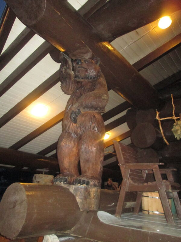 Столб-медведь