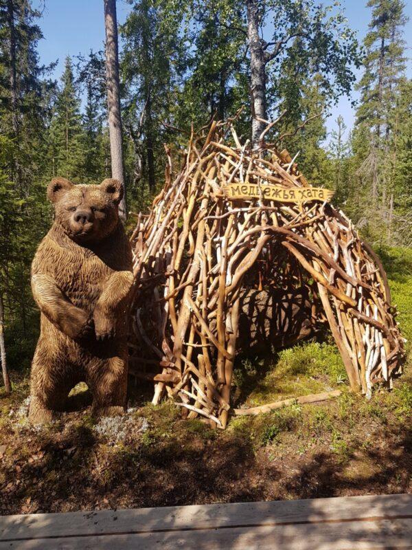"""Детский домик """"Медвежья хата"""""""