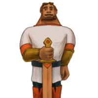 Илья Муромец с мечом