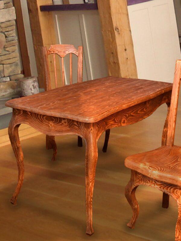 Стол обеденный под старину
