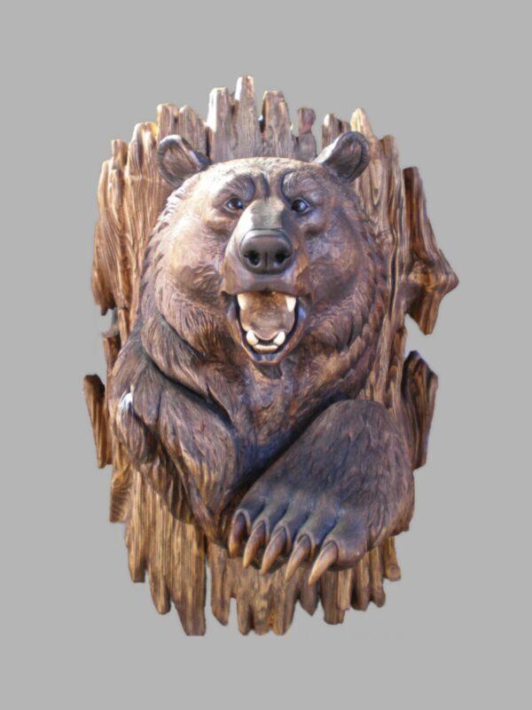 Голова Медведя с лапой