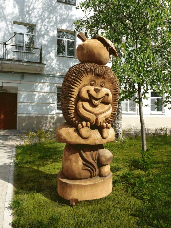 Фигура Ежик на грибочке