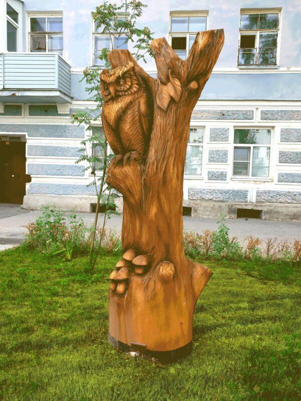 Фигура Сова на дереве